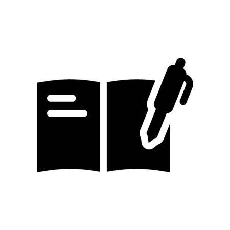 complaints book icon from Communications collection Stock Illustratie