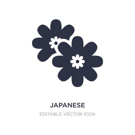 japanese icon on white background. Simple element illustration from Nature concept. japanese icon symbol design.