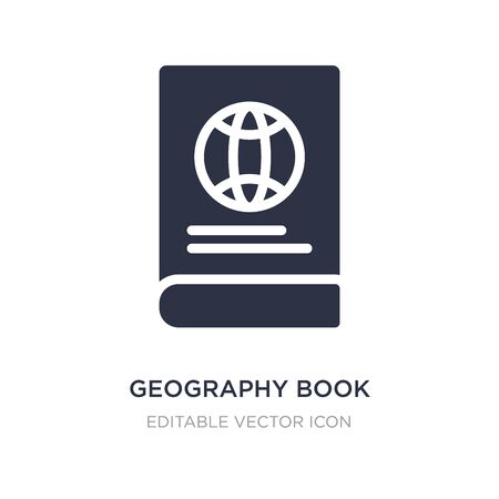 geography book icon on white background. Simple element illustration from Travel concept. geography book icon symbol design. 版權商用圖片 - 134968278
