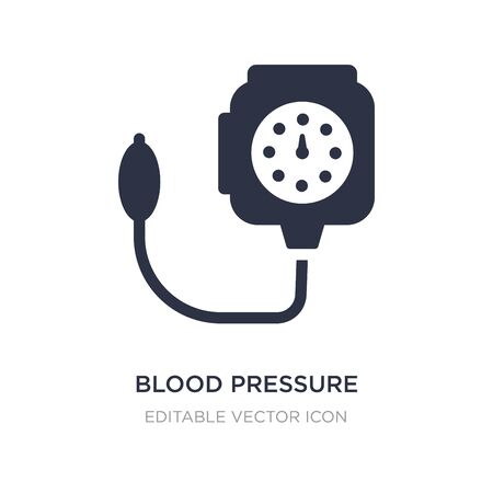 blood pressure control tool icon on white background. Simple element illustration from Medical concept. blood pressure control tool icon symbol design.