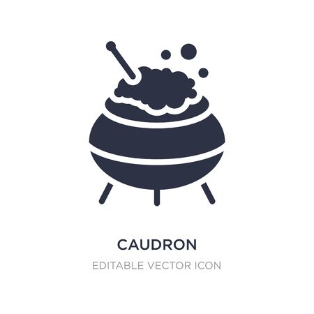 caudron icon on white background. Simple element illustration from Other concept. caudron icon symbol design.