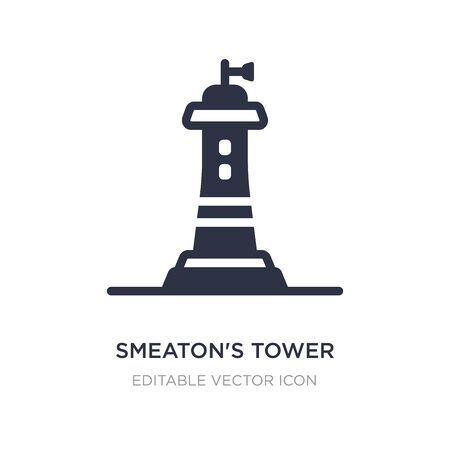 smeaton's tower icon on white background. Simple element illustration from Other concept. smeaton's tower icon symbol design.