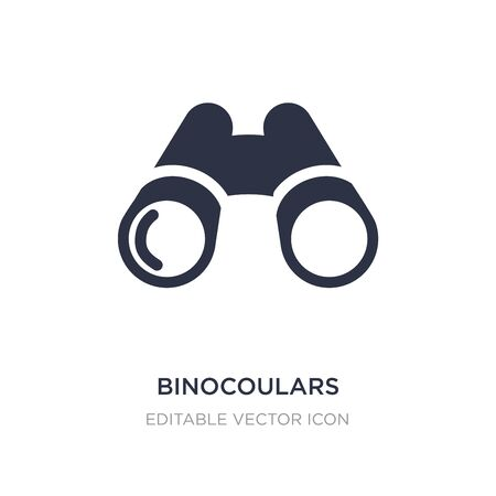 binocoulars icon on white background. Simple element illustration from General concept. binocoulars icon symbol design.
