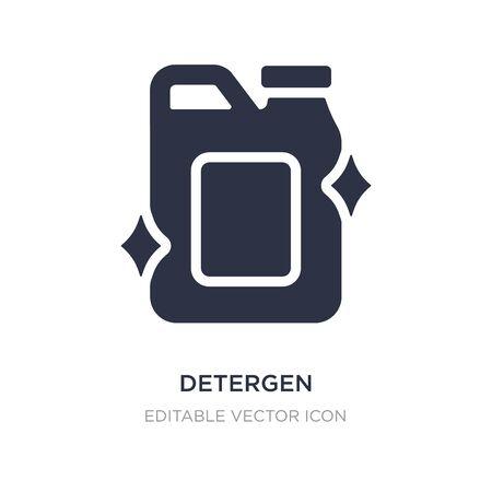 detergen icon on white background. Simple element illustration from Miscellaneous concept. detergen icon symbol design.