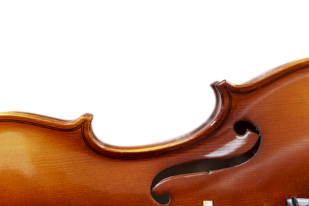 Silhouette of a violin selective focus music, art, classical,