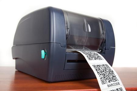 stocktaking: barcode label printer