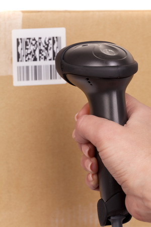 barcode scanning: Scanning boxes with  barcode scanner