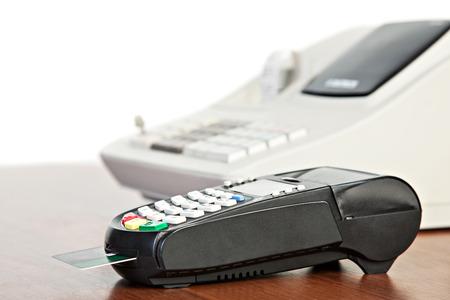 eftpos: Credit Card reader and  cash register