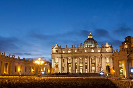 Saint Peters Square in Vatican