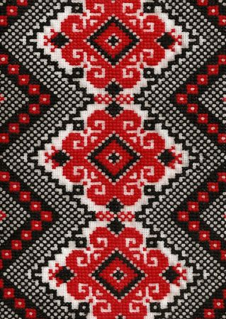 Texture design.Folk design of Ukraine to decoration of your interior. photo