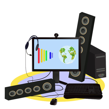 musik: digitally technology.