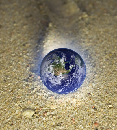 Concepts of Earth protection. Stock Photo - 11304752