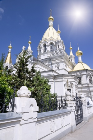 Christian temple. Ukraine, the city of Sevastopol. photo