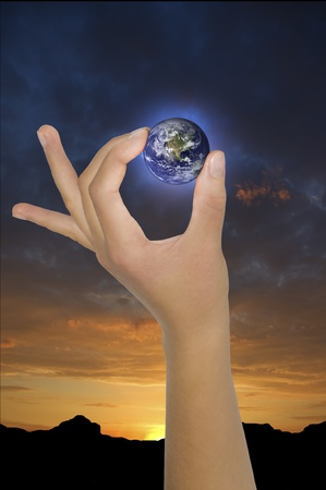 concept of global environment abstract composition Stock Photo - 12778762