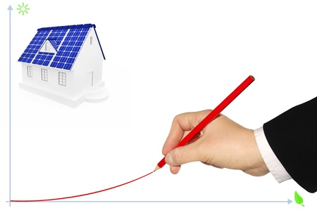 The concept of advantage of alternative energy sources Stock Photo - 12625904