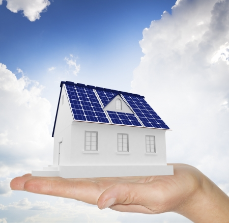 energy use: The concept of use for the household purposes of energy of the sun