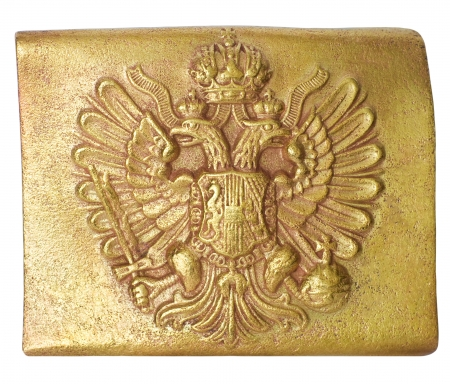 Belt buckle of the Austrian soldier A XIX-th century