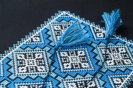 Cross stitch patterns Ukrainian decorative pattern  photo