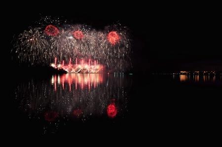 concurso de fuegos artificiales 2013, Putrajaya, Malasia