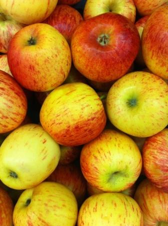 Un grupo de manzana