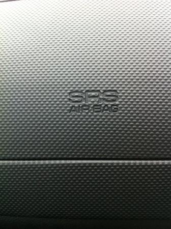Dise�o de la textura en el salpicadero del coche. Foto de archivo
