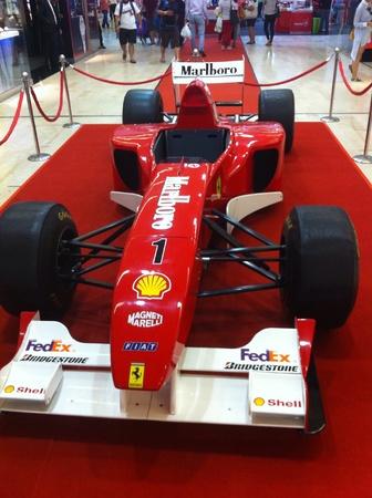 Fahrenheit 88,Kuala Lumpur - 27th March 2015,Formula one event roadshow,Kuala lumpur,Malaysia. Stock Photo