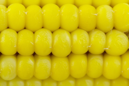 boiled corn. background. closeup, macro.