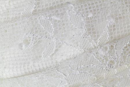 lace wedding dress. closeup photo