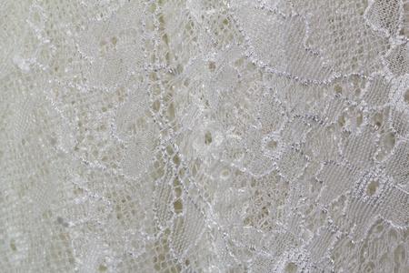 lace wedding dress. closeup