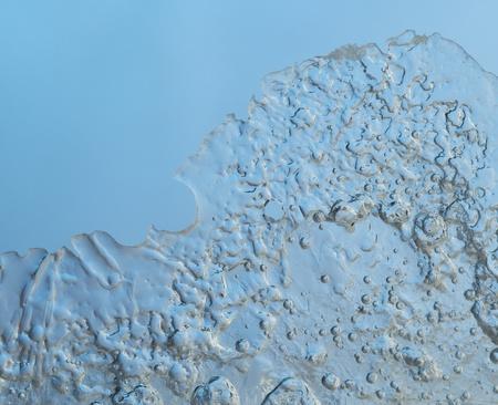 background of ice closeup