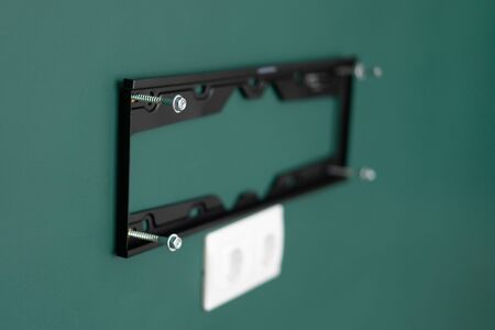 repair and decoration. wall mount for tv.
