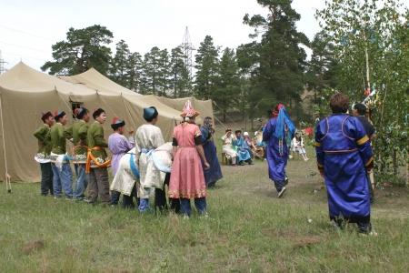 shamanism: Shaman ceremony Editorial