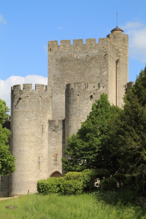 Fortress of the Middle Ages in France