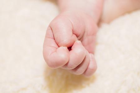 Gentle baby handle in blur