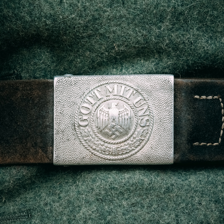 German belt buckle with the inscription - With Us God