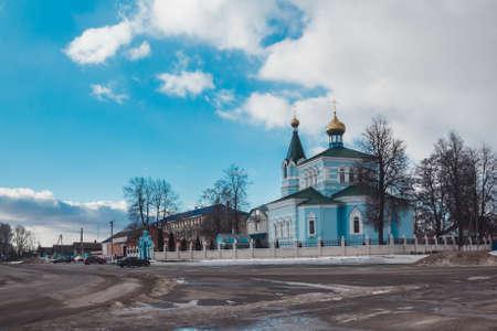 Orthodox Church of St. John of Kormia in Belarus