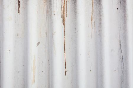 corrugated iron: Dirty corrugated iron or galvanized iron background or Texture