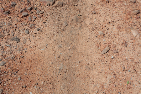 dirt texture: Red dirt (soil) background or texture.