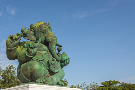 ganesha: Ganesha Hindu God statue in Phetchaburi, Thailand