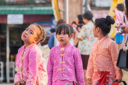 Phuket, Thailand - February 2, 2017: Parade of  18th Phuket chinese new year day and old Phuket town Festival in Phuket, Thailand Editorial
