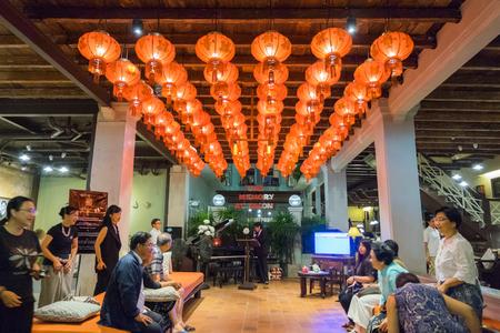 Phuket, Thailand - February 2, 2017: 18th Phuket chinese new year day and old Phuket town Festival in Phuket, Thailand