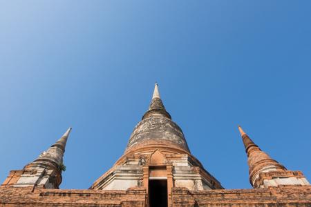 si: Wat Wat Yai Chai Mongkhon, the historical Park of Ayutthaya, Phra Nakhon Si Ayutthaya, Thailand