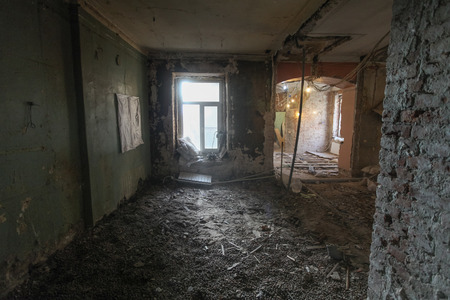 old buildings: It is the renovation of apartment in the old house.