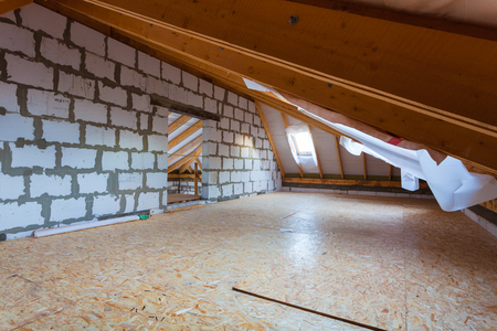 Interior of apartment during on the remodeling, renovation, extension, restoration, reconstruction and construction.
