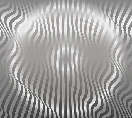 decorration: Aluminum Abstract Silver Stripe Pattern Background Vector