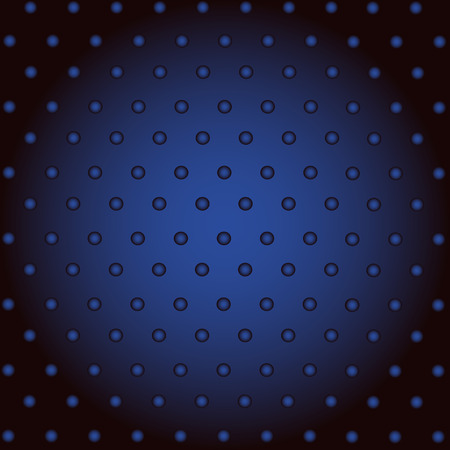 Dark Blue Abstract Background With Dot, For Modern Technology Advertising Vector