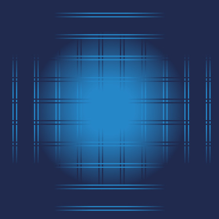 Vector Blue Lines Abstract Background Vector