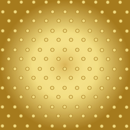 Abstract Technology Background With Gold Metal Texture Vector