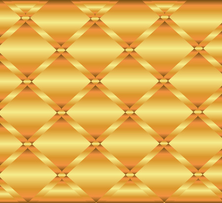 Gold Metal Texture Background Decorative Design Vector