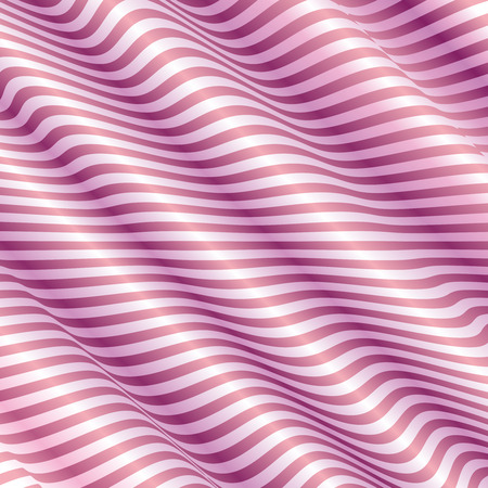 Light Pink Background With Abstract Wave Vector Vector